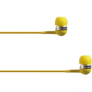 4XEM 4XIBUDYL Ear Bud Headphone Yellow