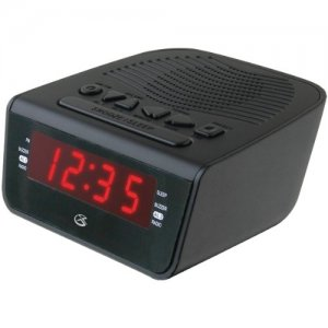GPX C224B Clock Radio with Dual Alarm
