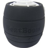 BeatBoom BB3000-BW Portable Wireless Bluetooth Speaker with Built in Speakerphone - Black/White