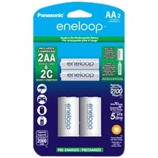 Panasonic K-KJS2MCA2BA Eneloop Genaral Purpose Battery