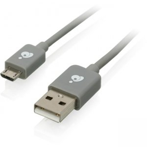 Iogear GUMU03 Charge & Sync Cable, 9.8ft (3m) - USB to Micro USB Cable