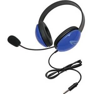 Califone 2800-BLT Listening First Stereo Headset with To Go Plug 2800BLT