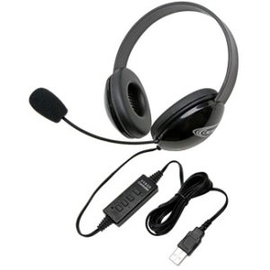 Califone 2800BK-USB Listening First Stereo Headset
