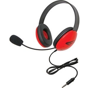 Califone 2800-RDT Listening First Stereo Headset with To Go Plug 2800RDT