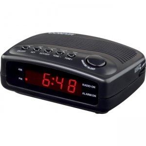 Conair Hospitality WCR02 Clock Radio with Single Day Alarm