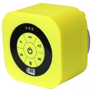 Adesso XTREAMS1Y Xtream S1 Bluetooth 3.0 Waterproof Speaker (Yellow) Xtream S1Y