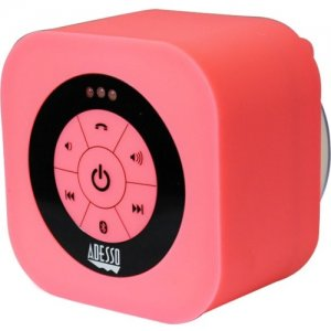 Adesso XTREAMS1P Xtream S1 Bluetooth 3.0 Waterproof Speaker (Pink) Xtream S1P