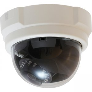 LevelOne FCS-3053 Fixed Dome Network Camera, 3-Megapixel, PoE 802.3af, Day & Night, IR LEDs