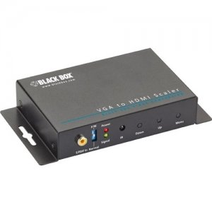 Black Box AVSC-VGA-HDMI-R2 VGA-to-HDMI Converter Scaler with Audio