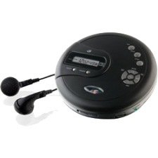 GPX PC332B Personal CD Player with FM Radio