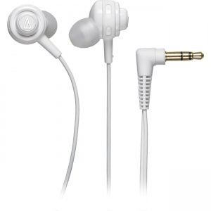 Audio-Technica ATH-COR150WH Core Bass In-Ear Headphones ATH-COR150