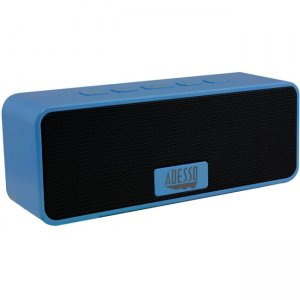 Adesso XTREAMS2L Xtream Portable Bluetooth 3.0 Wireless Speakers (Blue) S2L