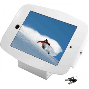 "MacLocks 101W224SENW Introducing ""Space"" - The new iPad Enclosure Kiosk - Secures iPad 2,3,4 - White"