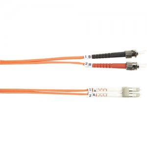 Black Box FO625-010M-STLC 62.5-Micron Multimode Value Line Patch Cable, ST-LC, 10-m (32.8-ft