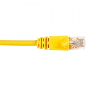 Black Box CAT6PC-020-YL-25PAK CAT6 Value Line Patch Cable, Stranded, Yellow, 20-ft. (6.0-m), 25-Pack