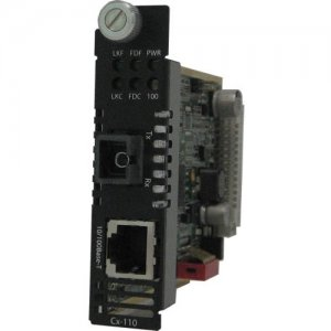 Perle 05041900 10/100 Fast Ethernet Media and Rate Converter Module C-110-M1SC2D