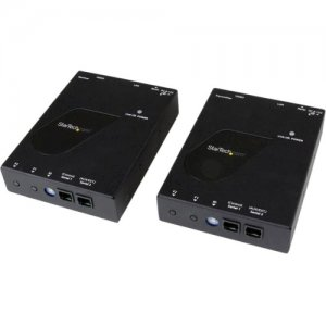 StarTech.com ST12MHDLAN HDMI Video Over IP Gigabit LAN Ethernet Extender Kit - 1080p