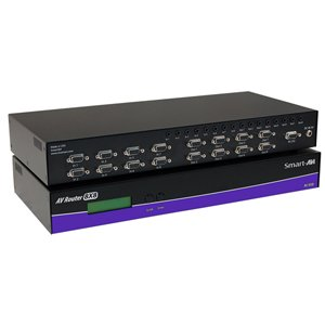 SmartAVI AV08X08S 8x8 AVRouter Matrix Video Switch