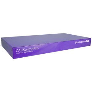 SmartAVI CSWP08X08S 8x8 Matrix Cat5 Video Switch with RS-232 Control