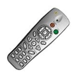 Optoma BR-5022L Projector Remote Control with Laser Mouse