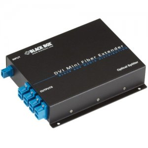 Black Box AVX-DVI-FO-SP8 8-Port Optical Splitter for AVX-DVI-FO-MINI Extender Kit