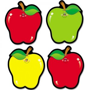 Carson-Dellosa 5555 Apple Cut-Outs CDP5555