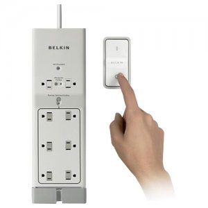 Belkin F7C01008Q Conserve Switch 8-Outlets Surge Suppressor