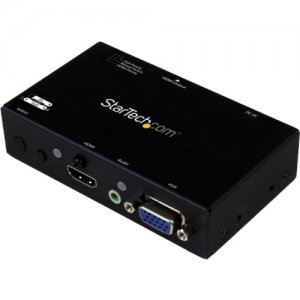 StarTech.com VS221VGA2HD 2x1 HDMI+VGA to HDMI Converter Switch w/ Automatic and Priority Switching-1080p