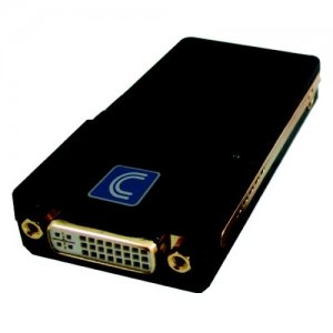 Comprehensive USB2-DVI/VGA/HD USB 2.0 to DVI/VGA/HDMI Converter