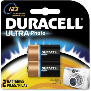 Duracell DL123AB2PK Ultra Lithium Photo Battery