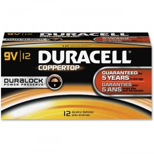 Duracell 01601 9-Volt CopperTop Batteries