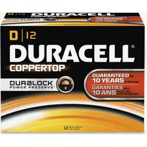 Duracell 01301 CopperTop D Batteries