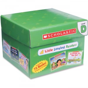 Scholastic 0545067677 Little Leveled Readers: Level D Box Set SHS0545067677