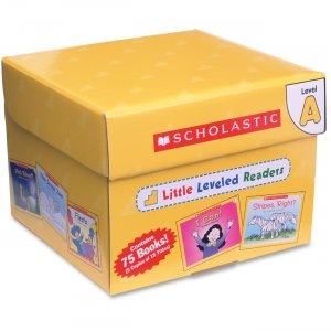 Scholastic 0545067693 Little Leveled Readers: Level A Box Set SHS0545067693