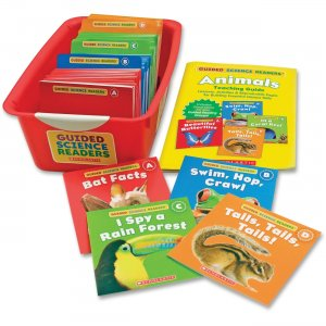Scholastic 0545442729 Guided Science Readers Super Set: Animals SHS0545442729