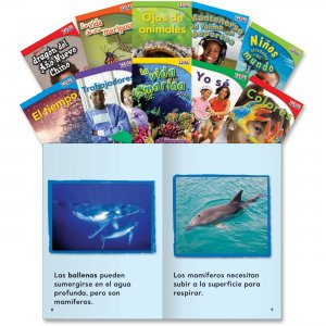 Shell 16098 TIME for Kids: Nonfiction Spanish Grade 1 Set 2 SHL16098