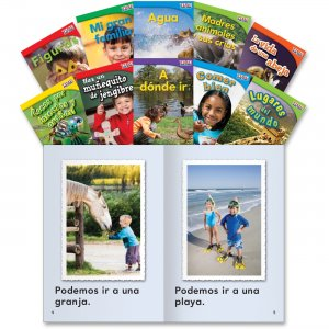 Shell 16100 TIME for Kids: Nonfiction Spanish Grade 1 Set 3 SHL16100