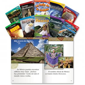 Shell 16102 TIME for Kids: Nonfiction Spanish Grade 2 Set 1 SHL16102