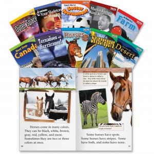 Shell 16103 TIME for Kids: Nonfiction English Grade 2 Set 2 SHL16103