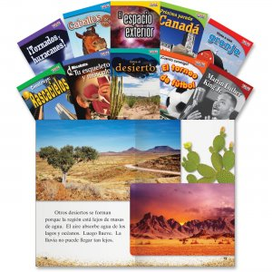 Shell 16104 TIME for Kids: Nonfiction Spanish Grade 2 Set 2 SHL16104