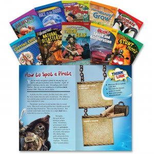 Shell 18253 TIME for Kids: Nonfiction Readers English Grade 5 Set 1 SHL18253