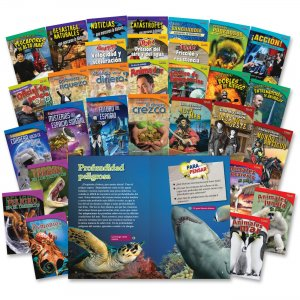 Shell 20222 TIME for Kids: Challenging 30-Book Spanish Set SHL20222