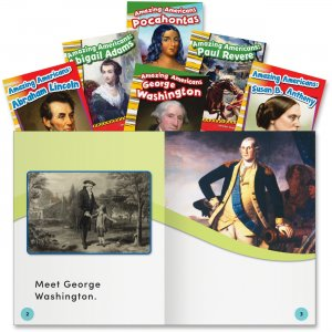 Shell 20602 Amazing Americans Book Set SHL20602