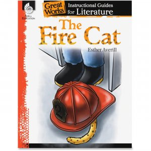 Shell 40109 The Fire Cat: An Instructional Guide for Literature SHL40109