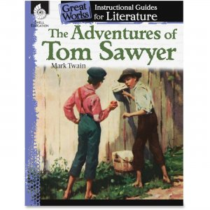 Shell 40200 The Adventures of Tom Sawyer: An Instructional Guide for Literature SHL40200