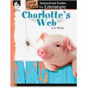 Shell 40219 Charlotte's Web: An Instructional Guide for Literature SHL40219