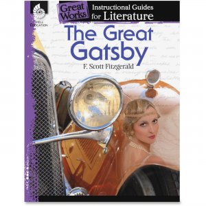 Shell 40302 The Great Gatsby: An Instructional Guide for Literature SHL40302