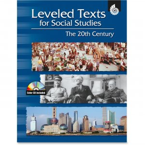 Shell 50084 Leveled Texts for Social Studies: The 20th Century SHL50084