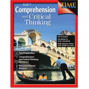 Shell 50244 Comprehension and Critical Thinking: Grade 4 SHL50244