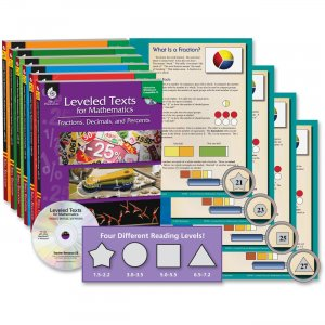 Shell 50564 Leveled Texts for Mathematics: 6-Book Set SHL50564